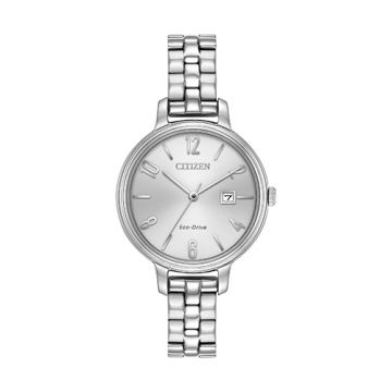 Citizen Eco Drive Stainless Steel Black Dial 31 mm Women's Watch