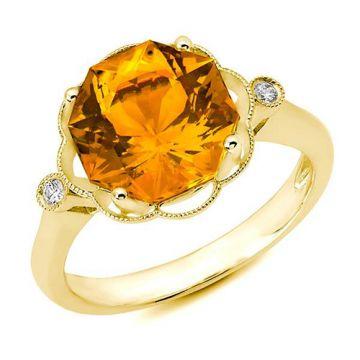 Stanton Color 14k Gold Citrine Ring