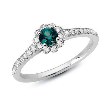 Stanton Color 14k Gold Alexandrite Ring