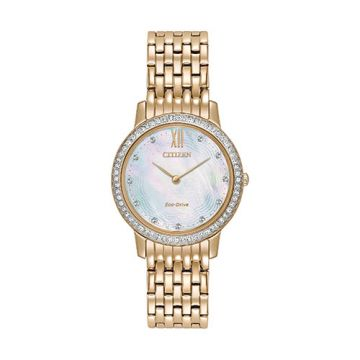Citizen Eco Drive Stainless Steel White Dial 29 mm Women's Watch
