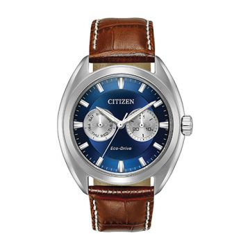 Citizen Eco Drive Stainless Steel Blue Dial 44 mm Men's Watch
