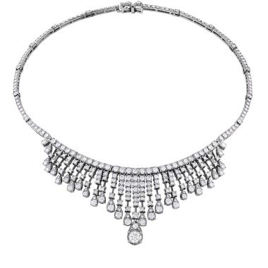Hearts on Fire 18.25 ctw. Aerial Elegance Necklace in 18K White Gold