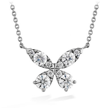 Hearts on Fire 0.8 ctw. Aerial Diamond Pendant in 18K Yellow Gold