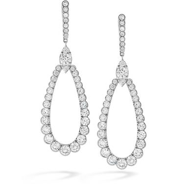Hearts on Fire 5 ctw. Aerial Regal Drop Earrings in 18K Rose Gold