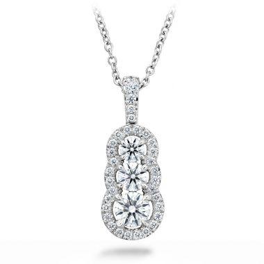 Hearts on Fire 0.77 ctw. Aurora Pendant - Small in Platinum