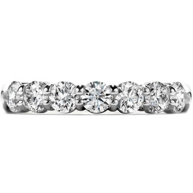 Hearts on Fire 1.25 ctw. Seven-Stone Band in Platinum