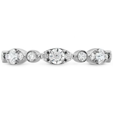 Hearts on Fire 0.45 ctw. HOF Bezel Regal Band in 18K White Gold