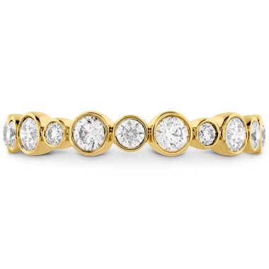 Hearts on Fire 0.62 ctw. HOF Bezel Diamond Band in 18K Yellow Gold