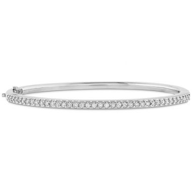 Hearts on Fire 0.75 ctw. HOF Classic Prong Set Bangle - 170 in 18K Yellow Gold