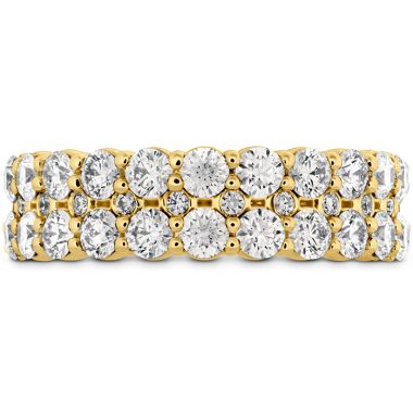 Hearts on Fire 1.8 ctw. HOF Classic Double Row Band in 18K Yellow Gold