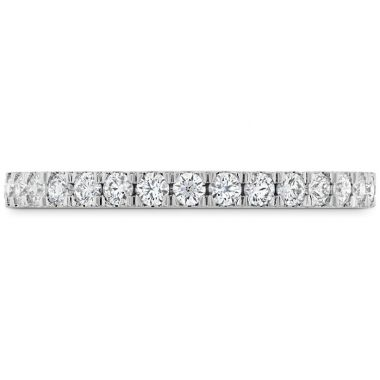 Hearts on Fire 0.38 ctw. HOF Hexagonal Diamond Band in 18K White Gold