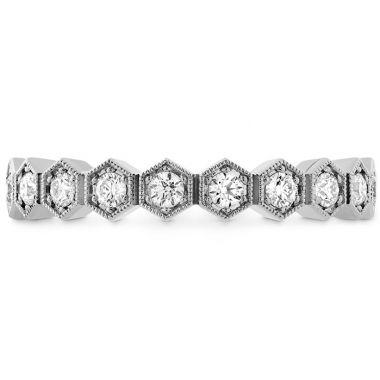 Hearts on Fire 0.38 ctw. HOF Hex Diamond Band in Platinum