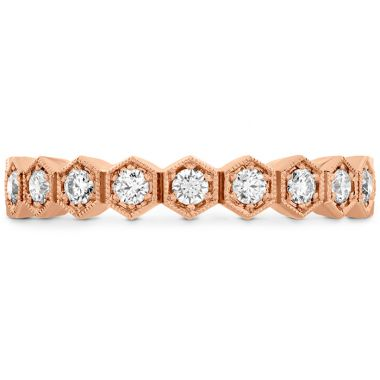 Hearts on Fire 0.62 ctw. HOF Hex Diamond Eternity Band in 18K Rose Gold