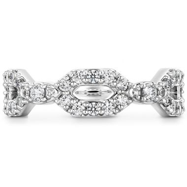Hearts on Fire 0.49 ctw. HOF Open Regal Diamond Band in 18K White Gold