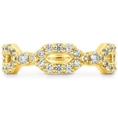 Hearts on Fire 0.49 ctw. HOF Open Regal Diamond Band in 18K Yellow Gold