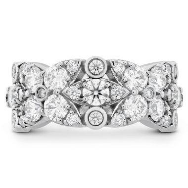 Hearts on Fire 1.85 ctw. HOF Regal Diamond Ring in 18K Yellow Gold