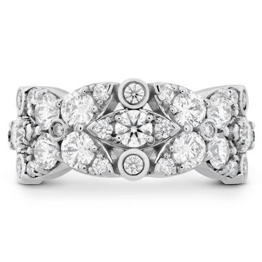 Hearts on Fire 1.85 ctw. HOF Regal Diamond Ring in Platinum