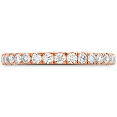 Hearts on Fire 0.42 ctw. HOF Signature Bezel Basket Diamond Band in 18K Rose Gold