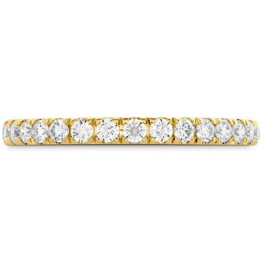 Hearts on Fire 0.42 ctw. HOF Signature Bezel Basket Diamond Band in 18K Yellow Gold