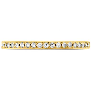 Hearts on Fire 0.12 ctw. HOF Signature Diamond Band in 18K Yellow Gold