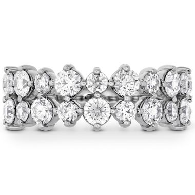 Hearts on Fire 1.95 ctw. HOF Timeless Two Row Ring in Platinum