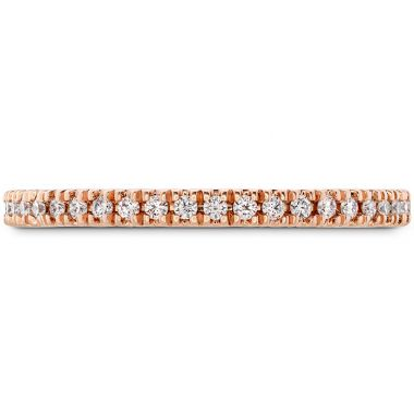Hearts on Fire 0.17 ctw. Sloane Wedding Band in 18K Rose Gold