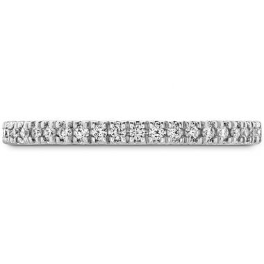 Hearts on Fire 0.17 ctw. Sloane Wedding Band in 18K White Gold