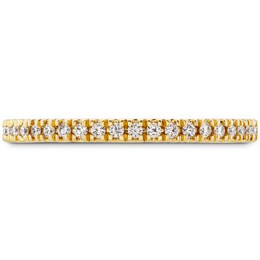 Hearts on Fire 0.17 ctw. Sloane Wedding Band in 18K Yellow Gold