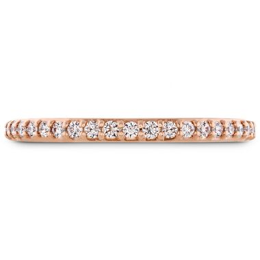Hearts on Fire 0.19 ctw. Behati Say It Your Way Matching Band in 18K Rose Gold