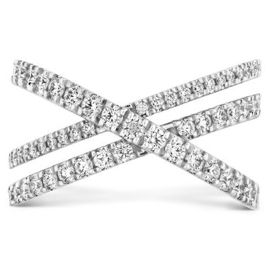 Hearts on Fire 0.69 ctw. Harley Wrap Power Band in Platinum