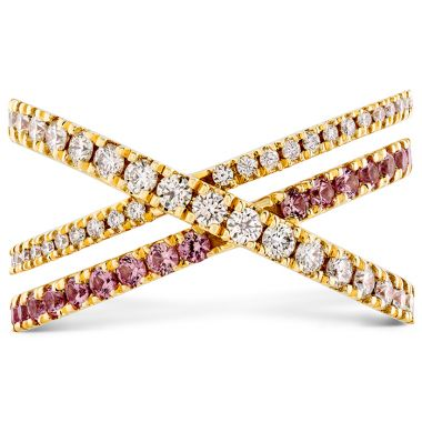 Hearts on Fire 0.45 ctw. Harley Wrap Power Band with Sapphires in 18K Yellow Gold