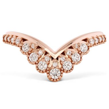 Hearts on Fire 0.23 ctw. Behati Silhouette Power Band in 18K Rose Gold