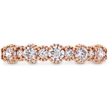 Hearts on Fire 0.67 ctw. Behati Beaded Band in 18K Rose Gold