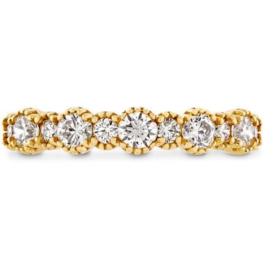 Hearts on Fire 0.67 ctw. Behati Beaded Band in 18K Yellow Gold