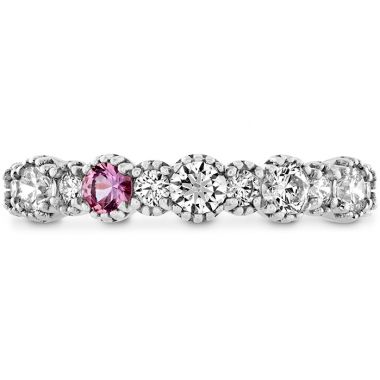 Hearts on Fire 0.57 ctw. Behati Beaded Band with Sapphires in Platinum