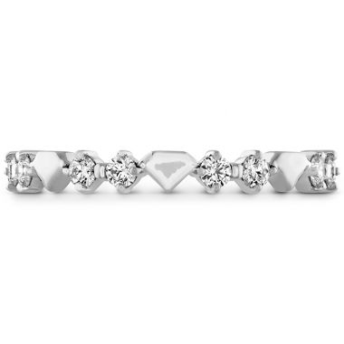 Hearts on Fire 0.21 ctw. Behati Bold Shapes Band in Platinum