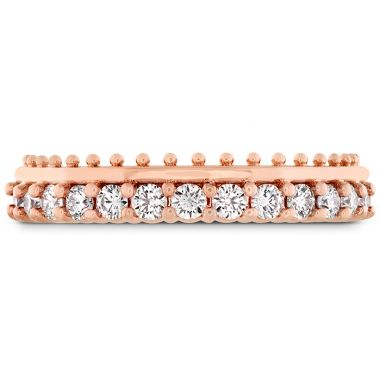 Hearts on Fire 0.42 ctw. Sloane Picot All In A Row Band in 18K Rose Gold