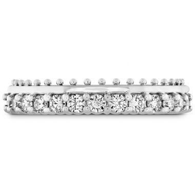 Hearts on Fire 0.42 ctw. Sloane Picot All In A Row Band in Platinum