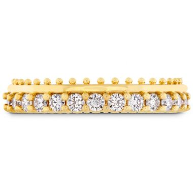 Hearts on Fire 0.42 ctw. Sloane Picot All In A Row Band in 18K Yellow Gold