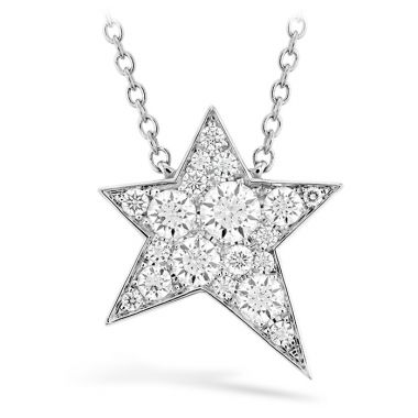 Hearts on Fire 0.16 ctw. Illa Cosmic Diamond Necklace in 18K White Gold