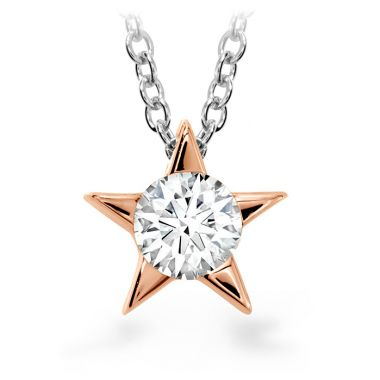 Hearts on Fire 0.25 ctw. Illa Pendant Necklace in 18K Rose Gold