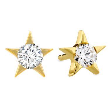 Hearts on Fire 0.33 ctw. Illa Diamond Stud Earrings in 18K Yellow Gold