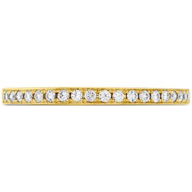 Hearts on Fire 0.15 ctw. Illustrious Diamond Band in 18K Yellow Gold