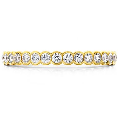 Hearts on Fire 0.41 ctw. Isabelle Bezel Band in 18K Yellow Gold