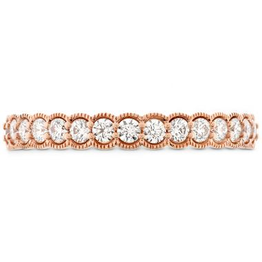 Hearts on Fire 0.42 ctw. Isabelle Milgrain Diamond Band in 18K Rose Gold