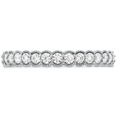Hearts on Fire 0.42 ctw. Isabelle Milgrain Diamond Band in 18K White Gold