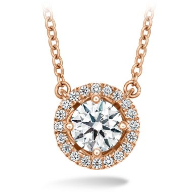Hearts on Fire 0.46 ctw. Joy Pendant in 18K Rose Gold