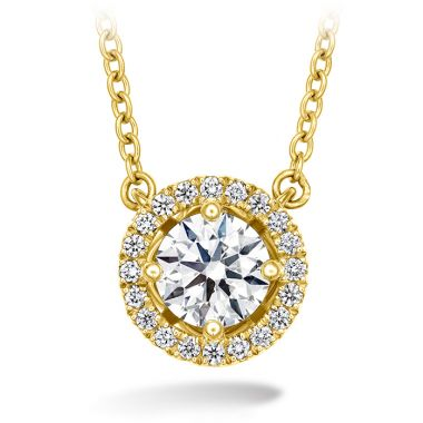 Hearts on Fire 0.46 ctw. Joy Pendant in 18K Yellow Gold