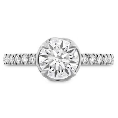 Hearts on Fire 0.21 ctw. Juliette Diamond Band Semi-Mount in Platinum