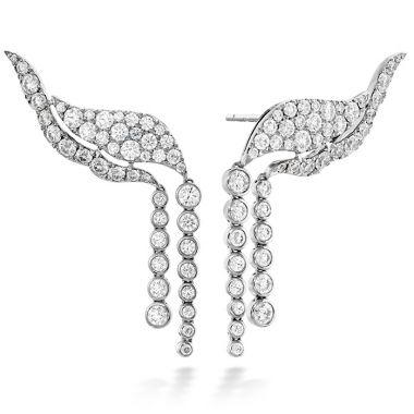 Hearts on Fire 3.1 ctw. Lorelei Fringe Diamond Ear Cuff in 18K White Gold